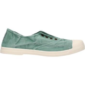 Schuhe Jungen Sneaker Low Natural World - Sneaker verde 102E-689 VERDE