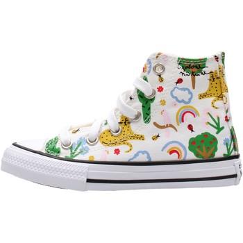Schuhe Jungen Sneaker High Converse - Ctas hi bco 671101C BIANCO