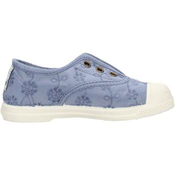Schuhe Jungen Tennisschuhe Natural World - Slip on  blu 474-590 BLU