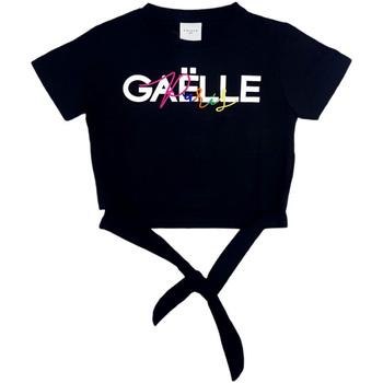 Kleidung Mädchen Tops / Blusen GaËlle Paris - T-shirt nero 2746M0341 NERO