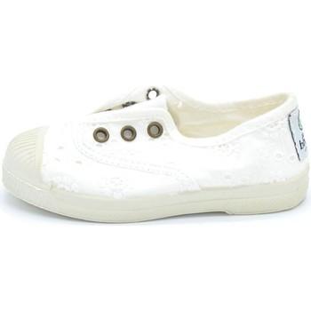 Schuhe Jungen Sneaker Natural World - Slip on  bianco 474-505 BIANCO