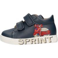 Schuhe Jungen Sneaker Low Falcotto - Polacchino blu AVISPA VL-0C02 BLU