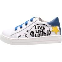 Schuhe Jungen Sneaker Low Falcotto - Sneaker bianco LEVOLA-1N06 BIANCO