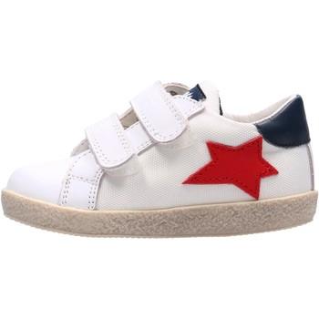 Schuhe Jungen Sneaker Low Falcotto - Sneaker bianco ASPASIA VL-1N09 BIANCO
