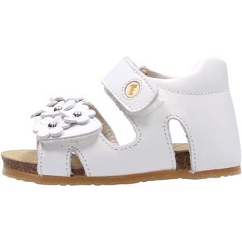 Schuhe Mädchen Sandalen / Sandaletten Falcotto - Sandalo bianco SABISA-0N01 BIANCO
