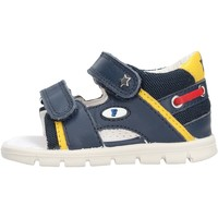 Schuhe Jungen Sandalen / Sandaletten Falcotto - Sandalo blu NEW SAILING-0C02 BLU