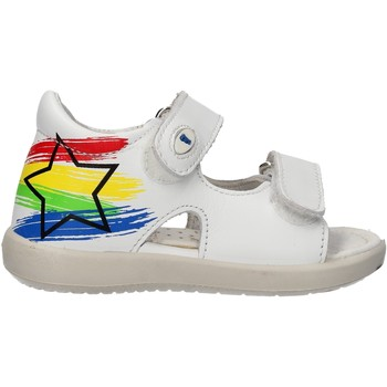 Schuhe Jungen Sandalen / Sandaletten Falcotto - Sandalo bianco BARRAL-0N01 BIANCO