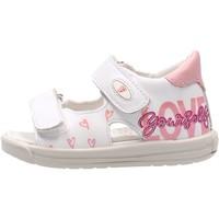 Schuhe Jungen Sandalen / Sandaletten Falcotto - Sandalo bianco DODOLO-1N04 BIANCO