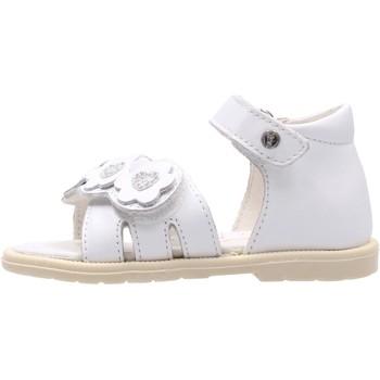Schuhe Mädchen Sandalen / Sandaletten Falcotto - Sandalo bianco CLATTER-0N01 BIANCO