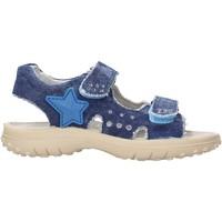 Schuhe Jungen Wassersportschuhe Naturino - Sandalo blu DOCK-0C06 BLU