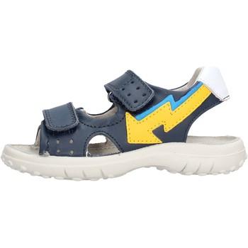 Schuhe Jungen Sandalen / Sandaletten Naturino - Sandalo blu KAHIWA-0C02 BLU