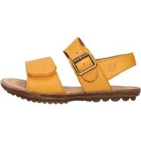 Schuhe Jungen Sandalen / Sandaletten Naturino - Sandalo giallo KENNY-0G05 GIALLO