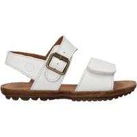 Schuhe Jungen Sandalen / Sandaletten Naturino - Sandalo bianco KENNY-0N01 BIANCO