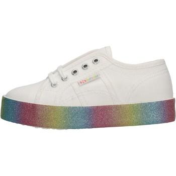 Schuhe Jungen Sneaker Low Superga - 2730 bianco S8116W 2730 A06 BIANCO