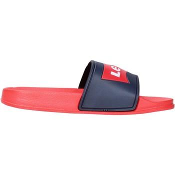 Schuhe Jungen Pantoletten Levi's - Ciabatta rosso/blu VPOL0060S-0290 BLU-ROSSO