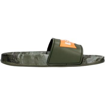 Schuhe Jungen Pantoletten Levi's - Ciabatta verde/camo VPOL0070S-1785 VERDE CAMO