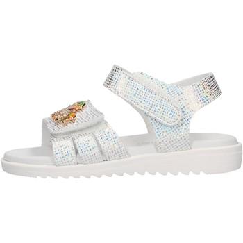 Schuhe Mädchen Sandalen / Sandaletten Lelli Kelly - Sandalo argento LK 1506 ARGENTO