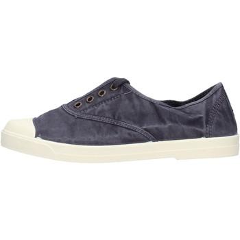 Schuhe Herren Slipper Natural World - Sneaker blu 3102E-677 BLU