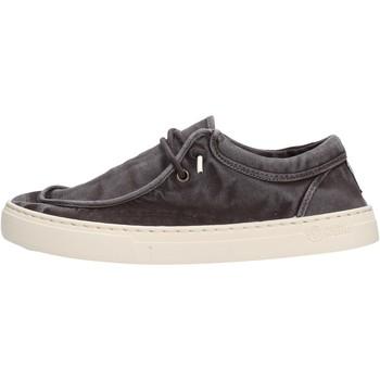 Schuhe Herren Slipper Natural World - Sneaker nero 6605E-601 NERO