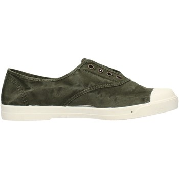 Schuhe Herren Tennisschuhe Natural World - Sneaker verde milit 3102E-622 VERDE MILITARE
