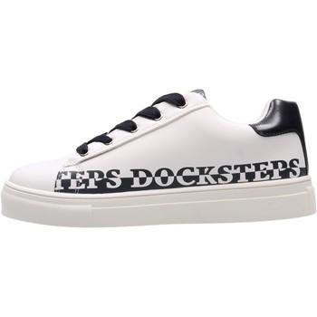 Schuhe Jungen Sneaker Low Docksteps - Sneaker bianco GLORY1 BIANCO