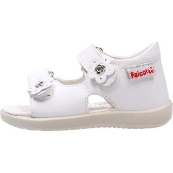 Schuhe Jungen Sandalen / Sandaletten Falcotto - Sandalo bianco BENSO-0N01 BIANCO
