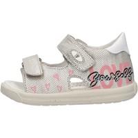 Schuhe Kinder Sandalen / Sandaletten Falcotto - Sandalo argento DODOLO-1Q23 ARGENTO