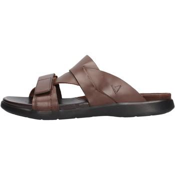 Schuhe Herren Sandalen / Sandaletten Valleverde - Ciabatta  marrone 36900 MARRONE