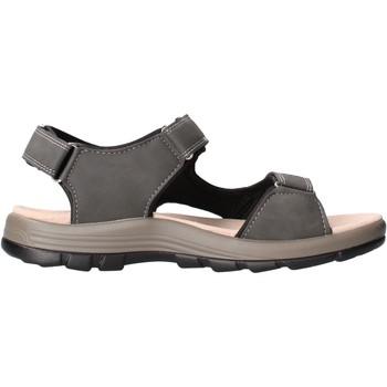 Schuhe Herren Sportliche Sandalen Valleverde - Sandalo grigio 54802 GRIGIO