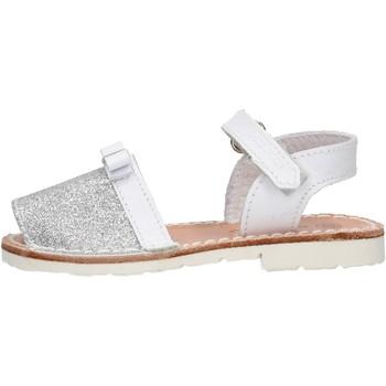 Schuhe Mädchen Sandalen / Sandaletten Balducci - Sandalo bco/argento CITA 4451 BIANCO-ARGENTO