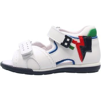 Schuhe Jungen Sandalen / Sandaletten Balducci - Sandalo bianco CITA 4402 BIANCO