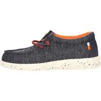 Schuhe Jungen Sneaker Hey Dude - Sneaker grigio WALLY YOUTH 2118 BLU