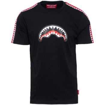 Kleidung Jungen T-Shirts Sprayground - T-shirt nero 20SPY374 NERO