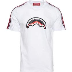 Kleidung Jungen T-Shirts Sprayground - T-shirt bianco 20SPY374 BIANCO