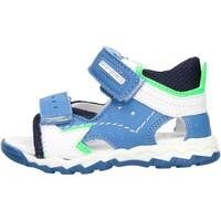 Schuhe Jungen Sandalen / Sandaletten Balducci - Sandalo avio/blu CSPO4501 BIANCO-BLU