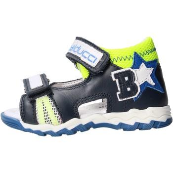 Schuhe Jungen Sandalen / Sandaletten Balducci - Sandalo blu/giallo CSPO4500 BLU