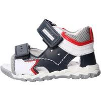 Schuhe Jungen Sandalen / Sandaletten Balducci - Sandalo blu/grigio CSPO4501 BLU-GRIGIO