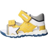 Schuhe Jungen Sandalen / Sandaletten Balducci - Sandalo giallo/grigio CSPO4501 GIALLO