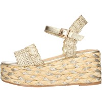 Schuhe Damen Sandalen / Sandaletten Keys - Sandalo oro K-4862 ORO