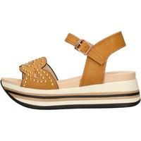 Schuhe Damen Sandalen / Sandaletten Keys - Sandalo beige K-5041 BEIGE