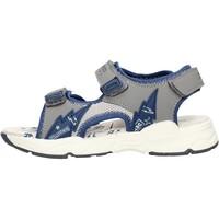 Schuhe Jungen Sandalen / Sandaletten Balducci - Sandalo grigio/bco BS2483 BLU