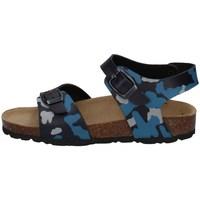 Schuhe Jungen Sandalen / Sandaletten Evoca EJ610B BLAU