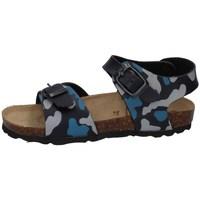 Schuhe Jungen Sandalen / Sandaletten Evoca EJ610A BLAU