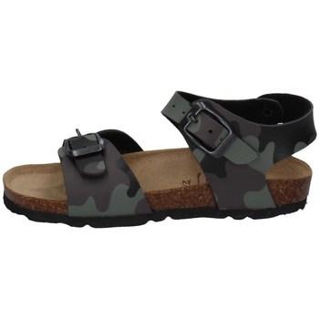 Schuhe Jungen Sandalen / Sandaletten Evoca EJ610A GRÜN