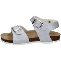 Schuhe Mädchen Sandalen / Sandaletten Evoca EJ307A SILBER
