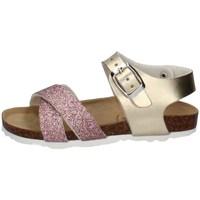 Schuhe Mädchen Sandalen / Sandaletten Evoca EJ301A BRONZE