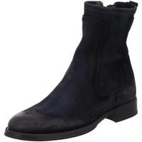 Schuhe Damen Boots Corvari Premium D3007 NAVY blau