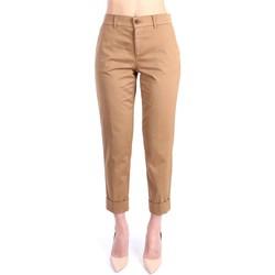 Kleidung Damen Chinohosen Berwich TF0599X 4205 Chino Damen Leinwand / beige Leinwand / beige
