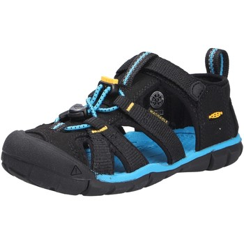 Schuhe Jungen Sportliche Sandalen Keen Jungen Sandale schwarz