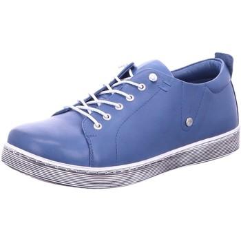 Schuhe Damen Sneaker Low Andrea Conti Schnuerschuhe Da. Schnüerer 0347891274 blau